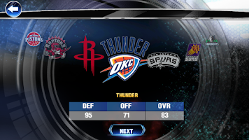 Screenshot of NBA 2K14