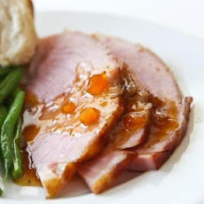 Easter Ham with Mango Ginger Glaze Recipe