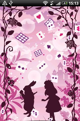 Live Wallpaper Alice in Labyri