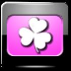 Evolve Pink Go  EX Theme icon