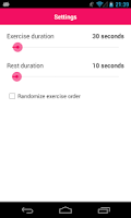 Screenshot of 7 Minute Workout - Scientific