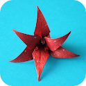 Flores Origami icon
