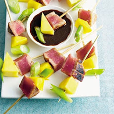 Teriyaki Tuna Skewers