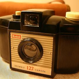 Kodak Brownie 127 by Linda Boyer - Artistic Objects Other Objects ( 127, dakon, camera, kodak, brownie )
