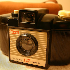 Kodak Brownie 127 by Linda Boyer - Artistic Objects Other Objects ( 127, dakon, camera, kodak, brownie )