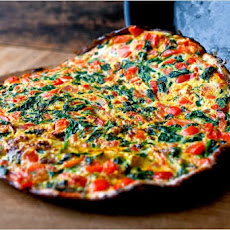 Spinach, Pepper and Bacon Frittata