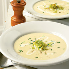 Darina Allen's winter leek & potato soup