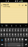 Screenshot of Tagalog TouchPal Keyboard