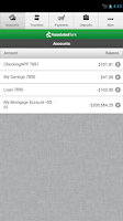Screenshot of Associated Mobile Banking