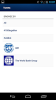 Screenshot of World Bank/IMF Spring Meetings