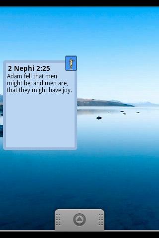 Scripture A Day Widget LDS