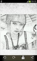 Screenshot of Pencil Sketch (Filter)