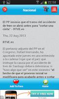 Screenshot of Spain Today News