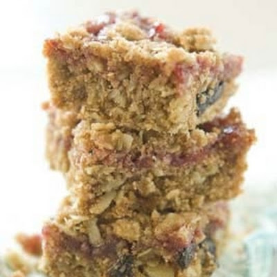 Sunflower Cherry Oatmeal Bars