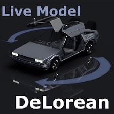 Live Model DeLorean