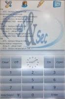 Screenshot of ATS Alarmpanel Free