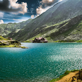 Isolated by Cosmin Lita - Landscapes Mountains & Hills ( cabin, mountain, nature, lake, landscape,  )