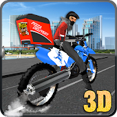 City Pizza Delivery Guy 3D APK for Bluestacks