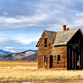 House on the Prairie  by Vern Tunnell - Buildings & Architecture Decaying & Abandoned
