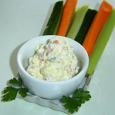 Festive Cream Cheese Dip