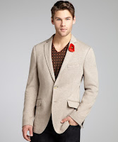 Etro heather grey cotton blend two-button sweater jacket