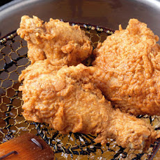 Rosemary-Brined, Buttermilk Fried Chicken