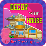 Design your House - girl game APK Image
