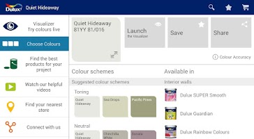 Screenshot of Dulux Visualizer IN