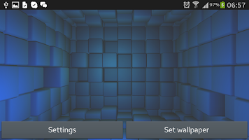 Screenshot of Cubes 3D Live Wallpaper Free