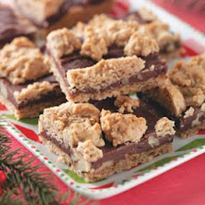 Fudge-Nut Oatmeal Bars