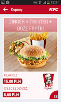 Screenshot of KFC Polska