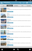Screenshot of Italy Travel Guide by Triposo
