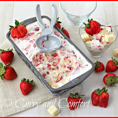 Strawberry Shortcake Ice Cream #StrawShortcake