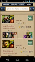 Screenshot of LoL Stats