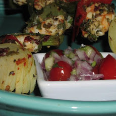 Ww Spicy Shrimp Kebabs With Tomatillo Salsa