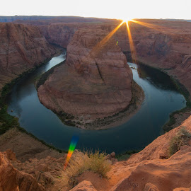 Horseshoe Bend by Sean Munzlinger - Landscapes Mountains & Hills (  )