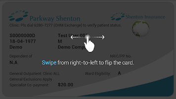 Screenshot of Shenton eCard
