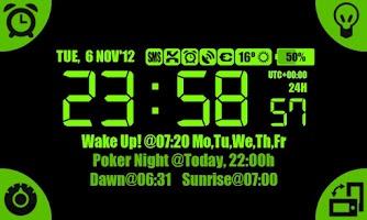 Screenshot of Night Alarm Clock