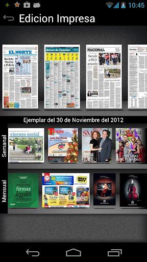 EL NORTE - screenshot
