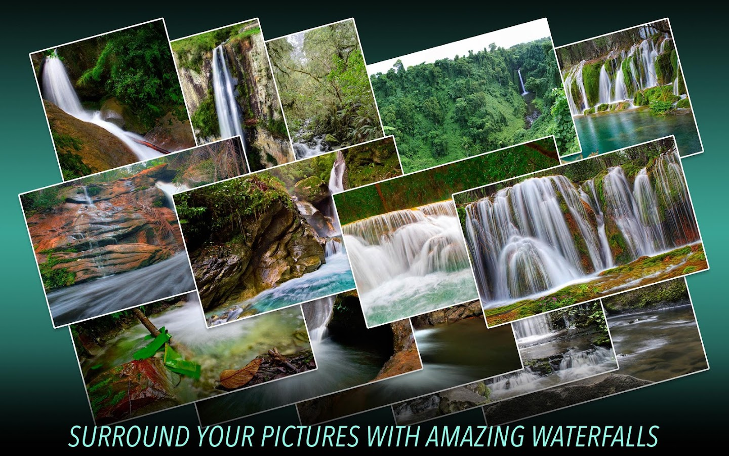 Wasserfall Fotorahmen android apps download