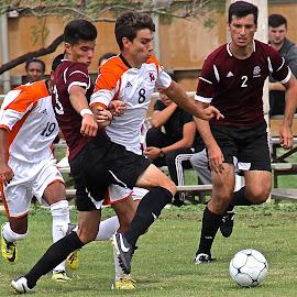 Breaking Free by Steven Aicinena - Sports & Fitness Soccer/Association football ( men, soccer )