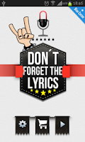 Screenshot of Don't Forget the Lyrics Rock
