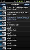Screenshot of Viewer for Axis Camera Station
