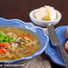 Brown Rice and Vegetable Soup