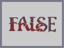 Thumbnail of the map 'False but True'