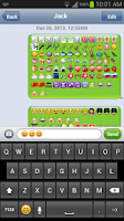 Screenshot of Barley Emoji Keyboard