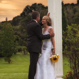 Newly wed by Anco Pretorius - Wedding Bride & Groom