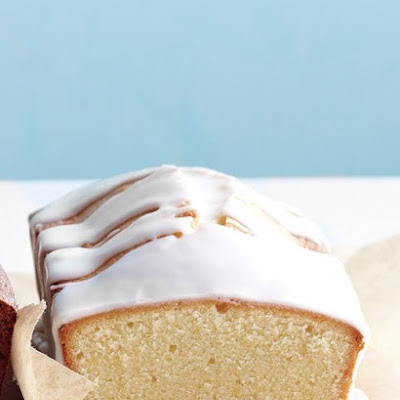 Citrus-Glazed Pound Cake