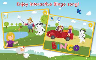 Screenshot of Nursery rhymes: Bingo Song HD