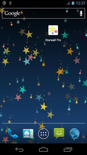 Star wall pro live wallpaper